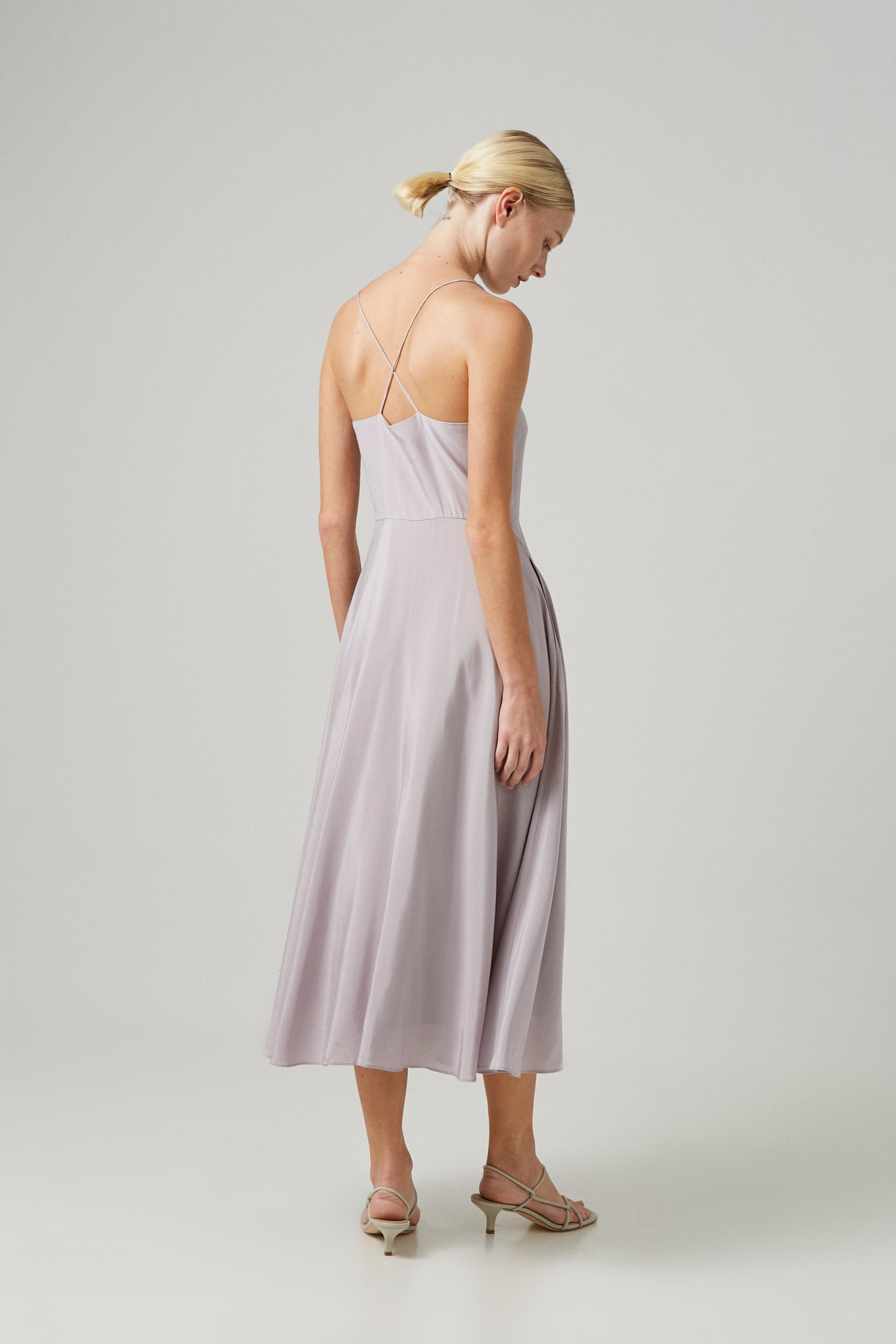 Viscose Cross-Back Dress