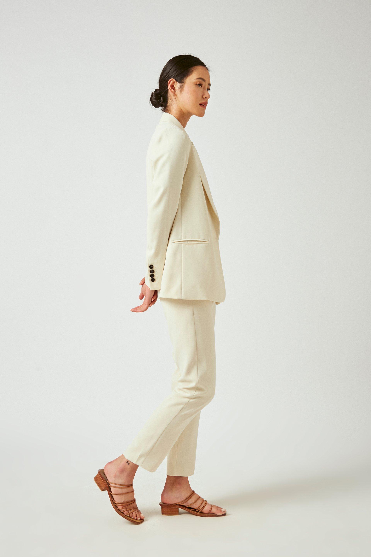 Crepe Tailored Blazer