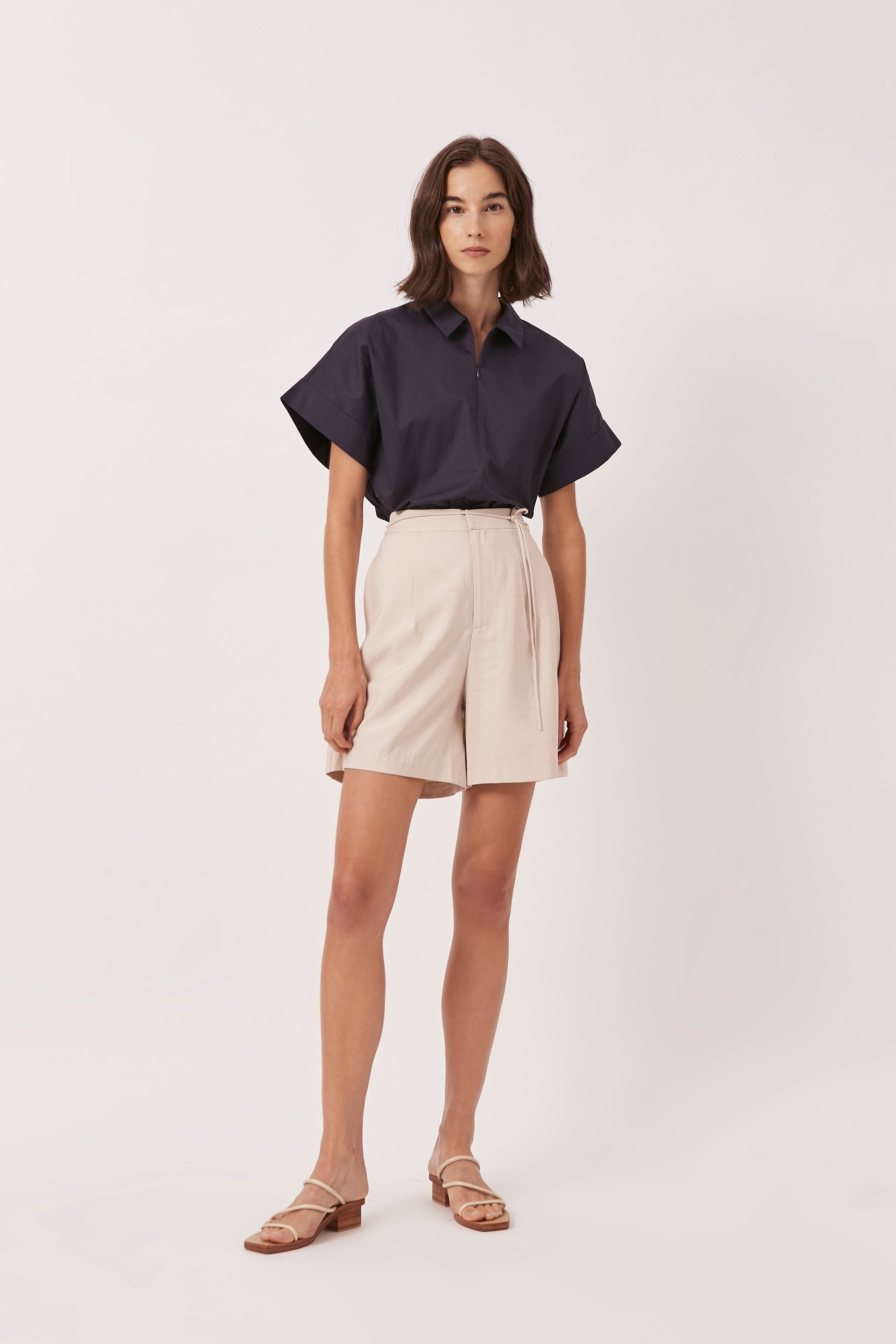 Relaxed Longline Shorts