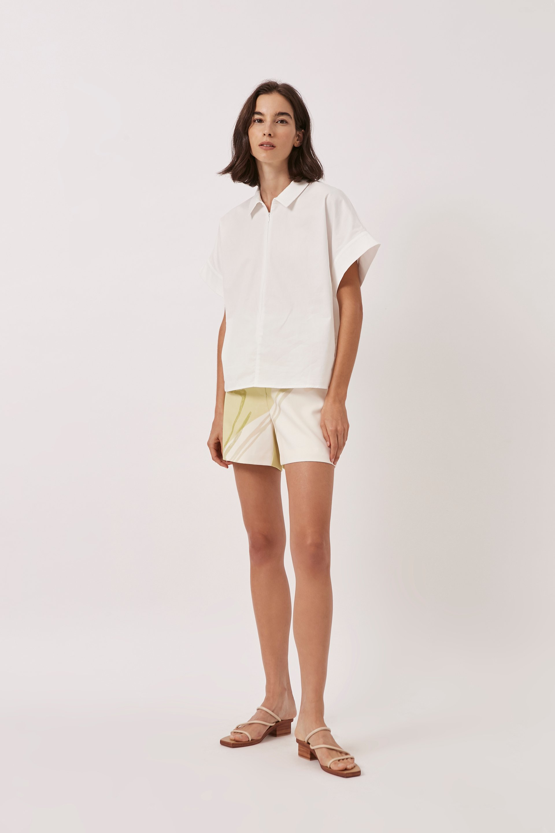 Relaxed Collared Shirt