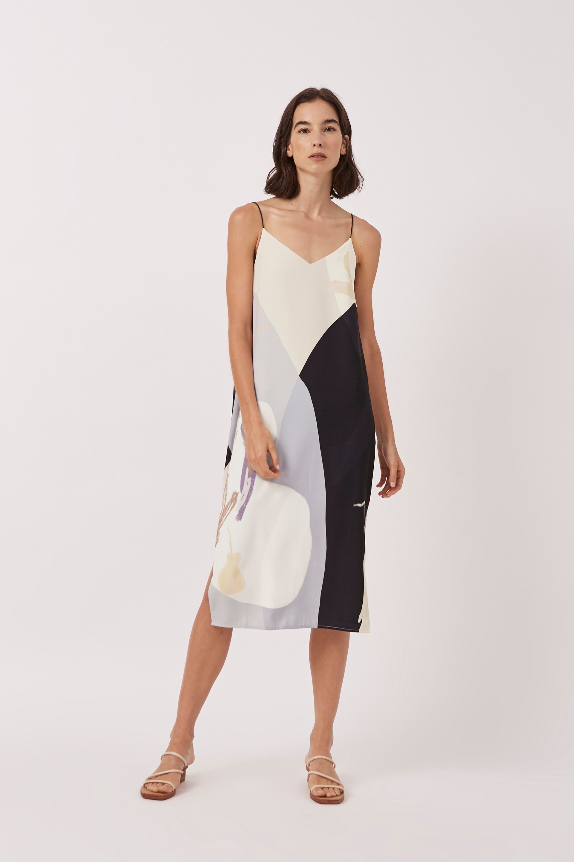 A Place To Be Slip Dress
