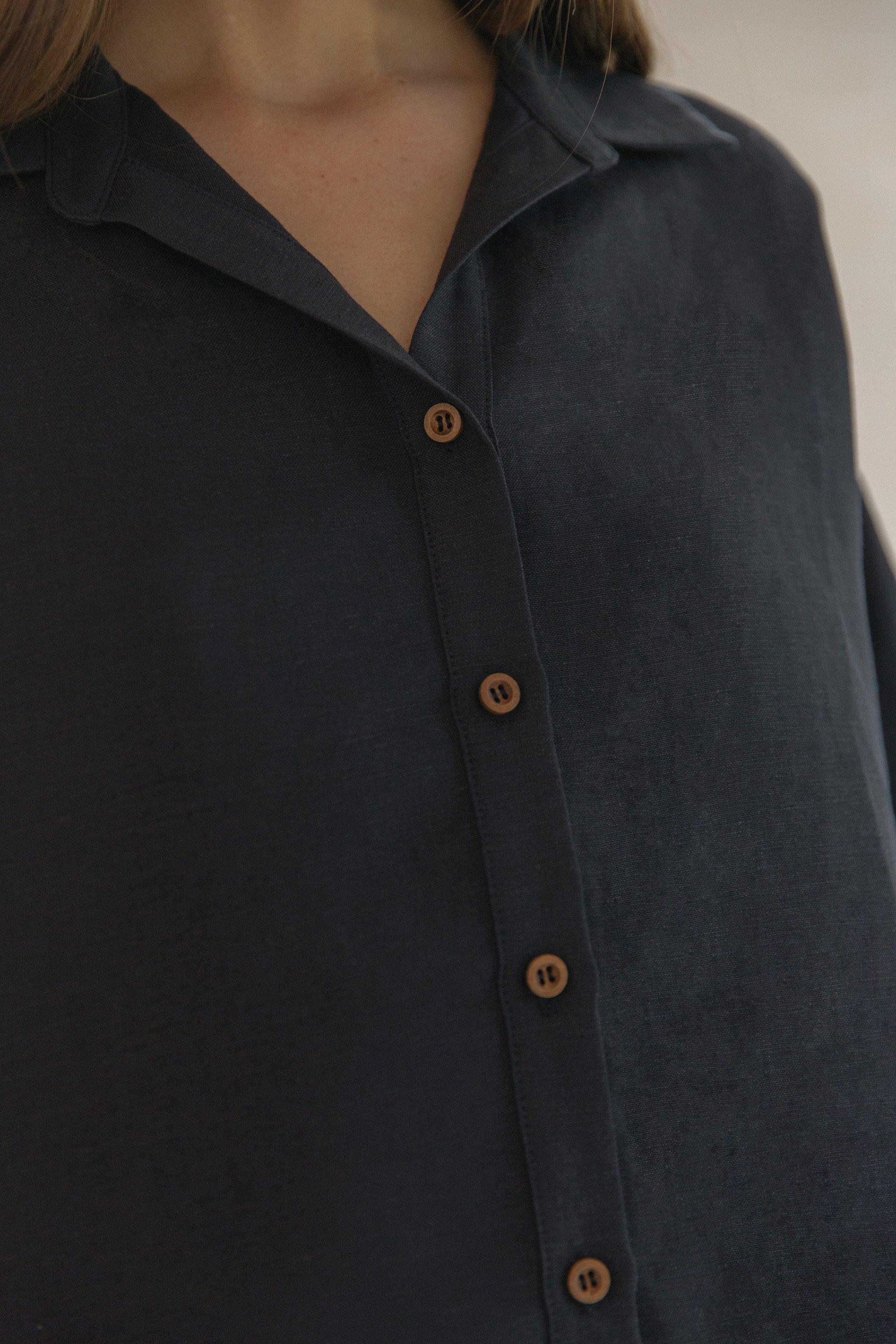 Linen Relaxed Shirt