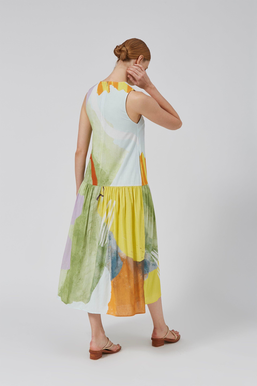 Coast Drop Waist Dress