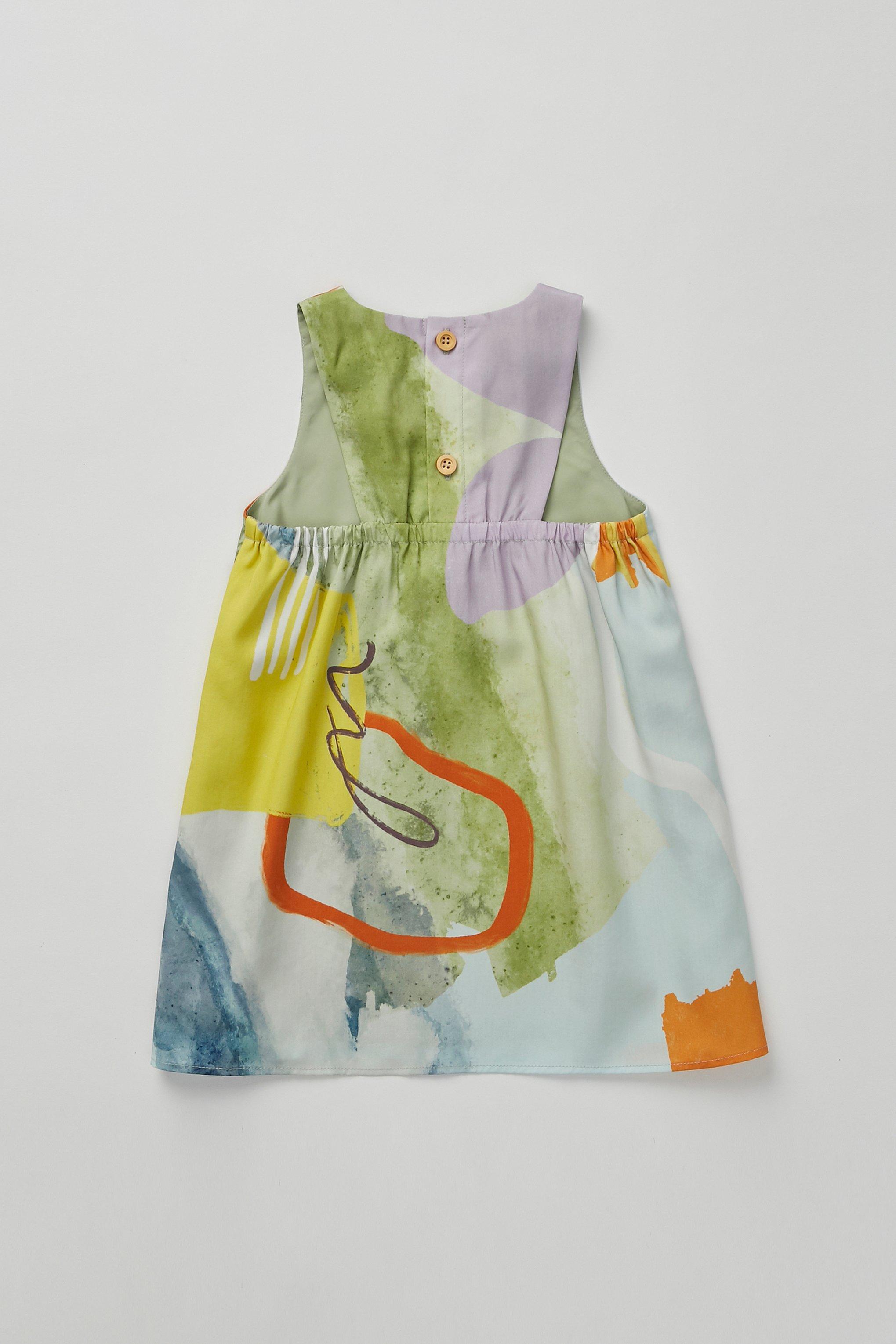 Coast Gathered-Back Dress