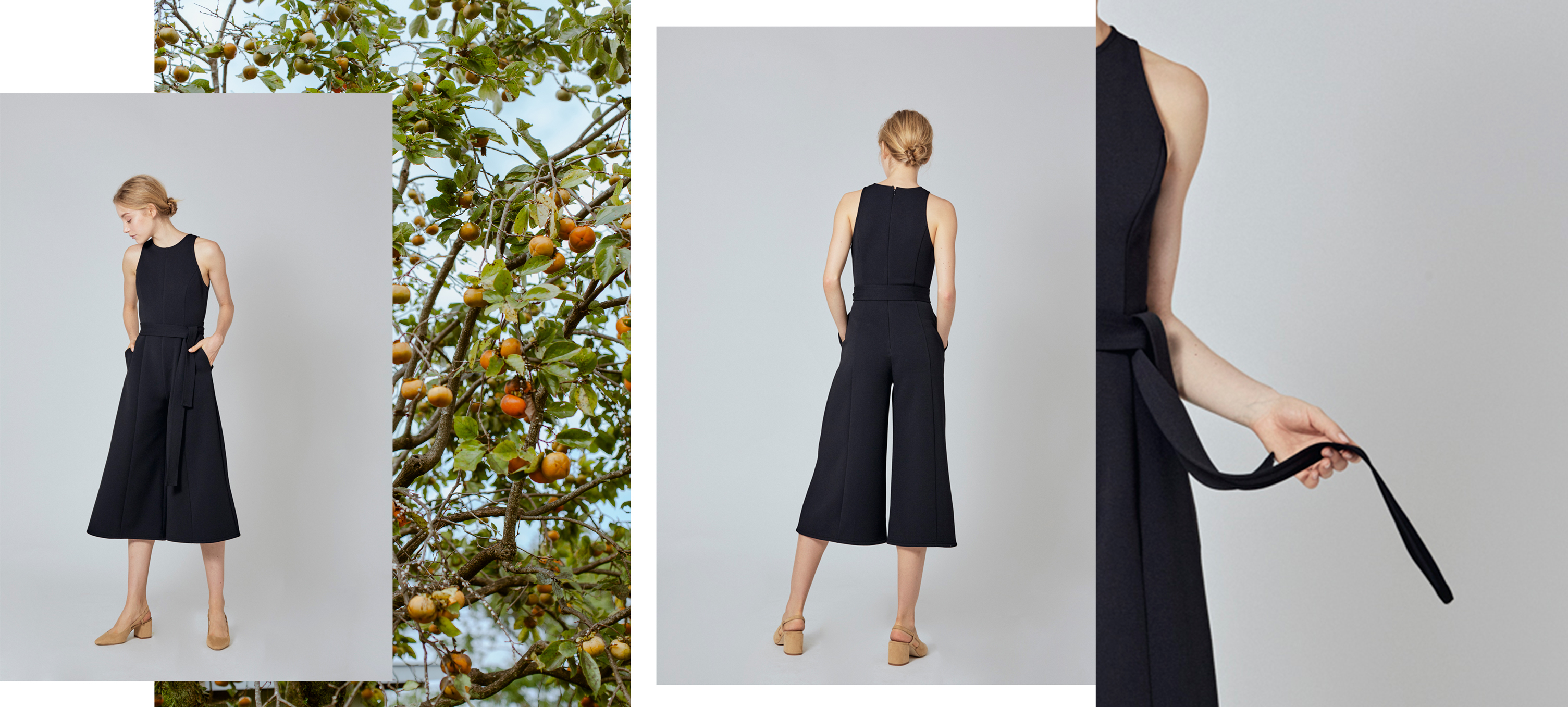 Fitted Longline Jumpsuit