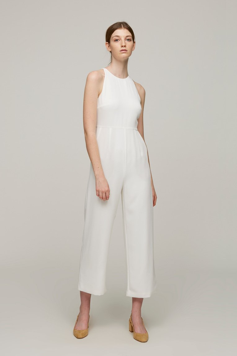 Roadmap Open-Back Jumpsuit