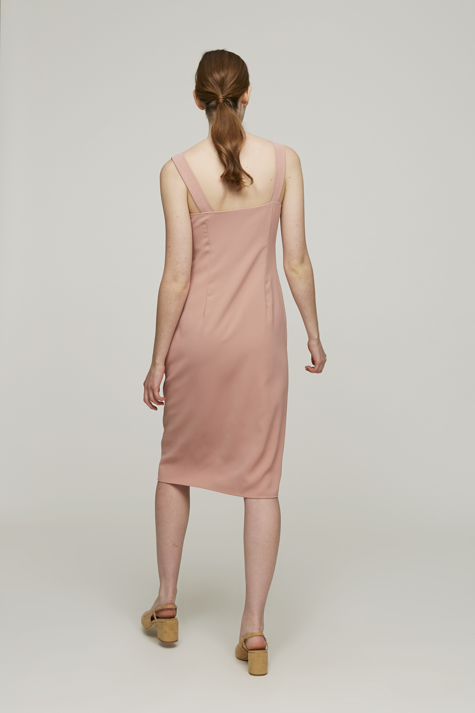 Roadmap Straight-Cut Dress